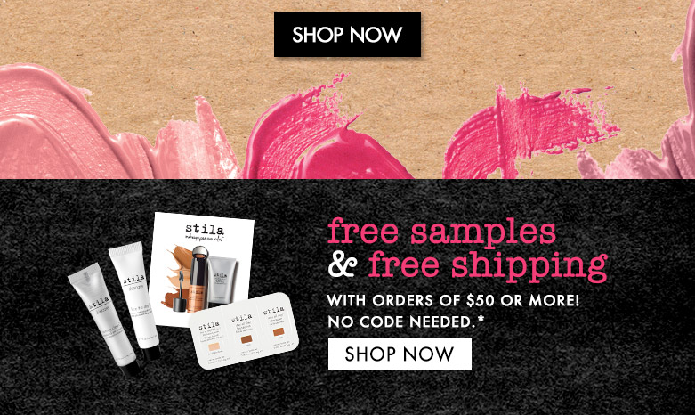 freeshipping and samples - shop now!