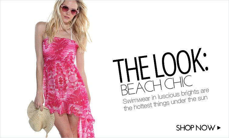 THE LOOK - BEACH CHIC
