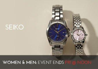 SEIKO - WOMEN'S MEN'S WATCHES