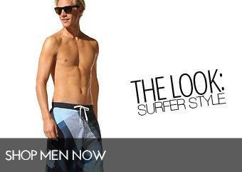 THE LOOK - SURFER STYLE
