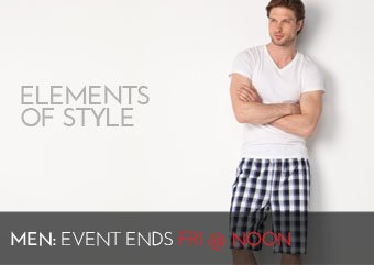 ELEMENTS OF STYLE - MEN