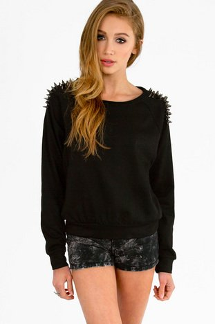 QUILL SHOULDER SWEATER 43