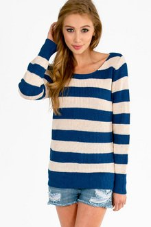 NAUTICAL STRIPED SWEATER 30