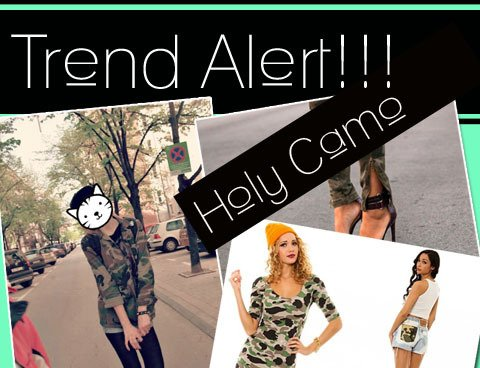 We Crush Hard on Camo!
