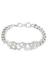 BAD bracelet Silver