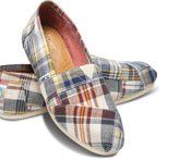 Blue Madras Plaid Women's Classics