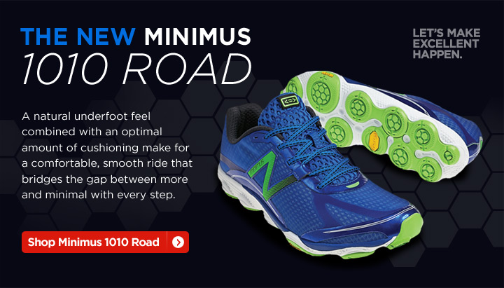 The New Minimus 1010 Road. Shop Now.