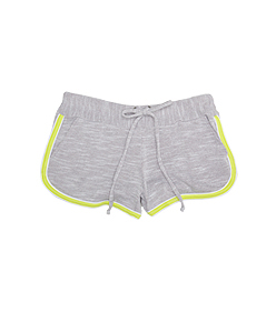Heathered Active Short
