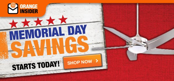 Memorial Day Savings Starts Today  SHOP NOW