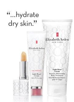 """...hydrate dry skin."""