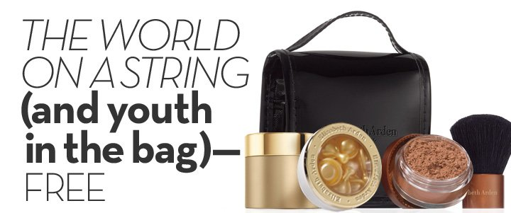 THE WORLD ON A STRING (and youth in the bag) - FREE