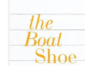 The Boat Shoe