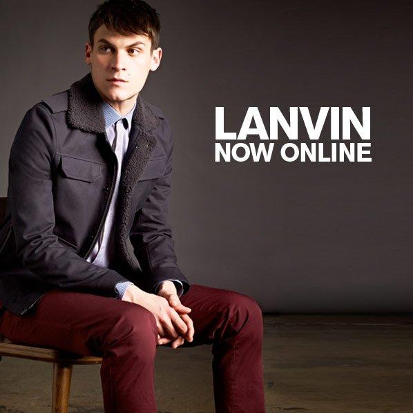 LANVIN NOW ONLINE