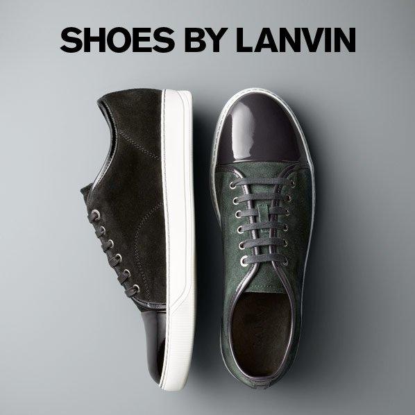 SHOES BY LANVIN