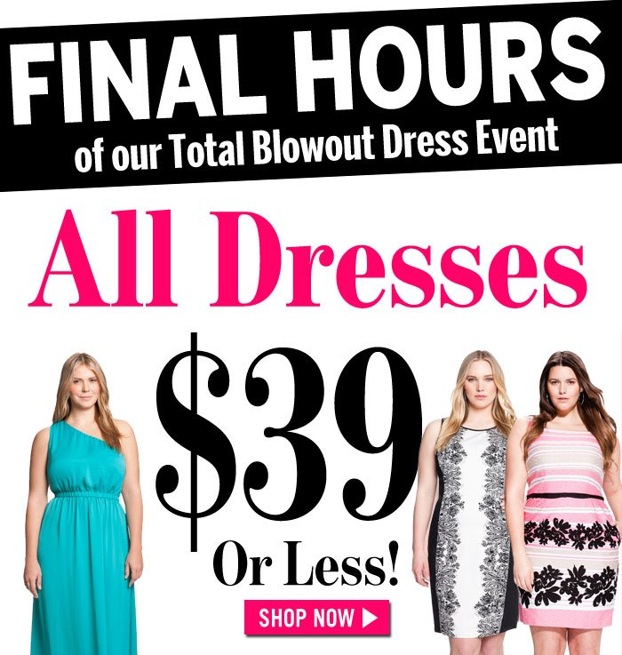 All Dresses $39 or Less!