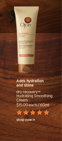Adds hydration and shine dry recovery Hydrating Smoothing Cream 15  dollars 60ml SHOP NOW