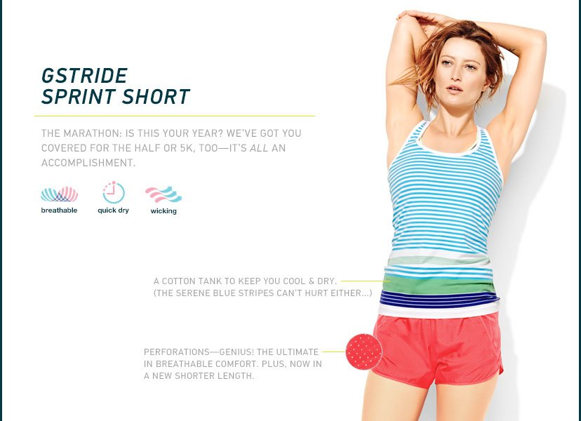 GSTRIDE SPRINT SHORT