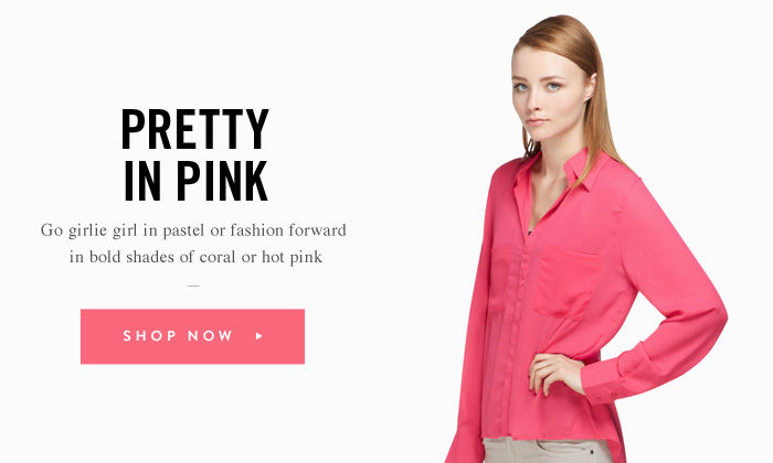 Pretty In Pink - Go girlie girl