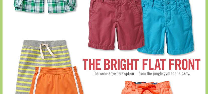 THE BRIGHT FLAT FRONT