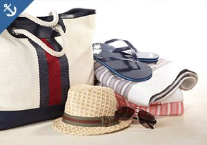 Swim & Sun: Beach-Bound Bags, Hats & More