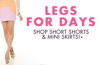 Women's Shorts & Skirts