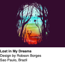 Lost in My Dreams - Design by Robson Borges / Sao Paulo, Brazil
