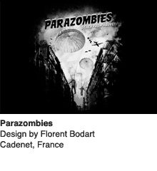 Parazombies - Design by Florent Bodart / Cadenet, France