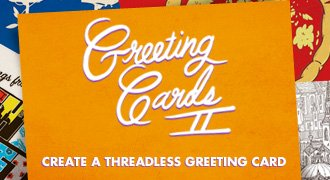 Create a Threadless greeting card