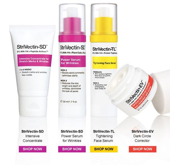 StriVectin-SD, StriVectin-SD, StriVectin-TL, StriVectin-EV