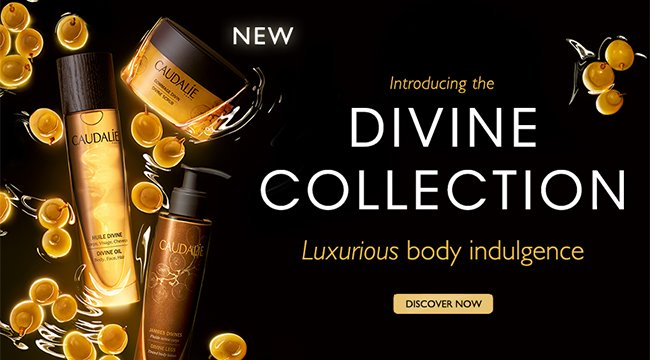 Introducing the Divine Collection: Luxurious body indulgence