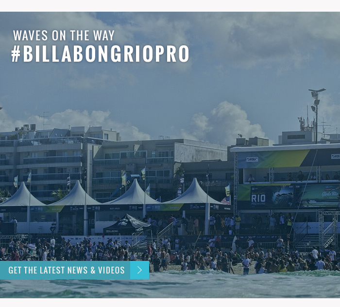 Waves on the way #BillabongRioPro - Get the latest news and videos