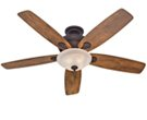 Hunter 60-in Regalia New Bronze Ceiling Fan