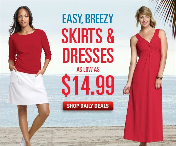 Breezy Dresses Priced Easy