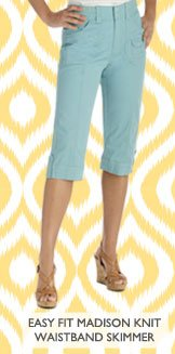 EASY FIT MADISON KNIT WAISTBAND SKIMMER