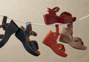 Walkable Styles: City Sandals, Wedges & More