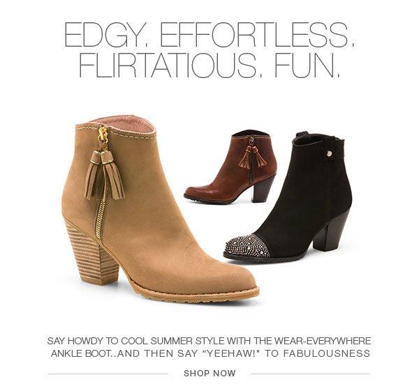 Edgy, Effortless, Flirtatious Fun