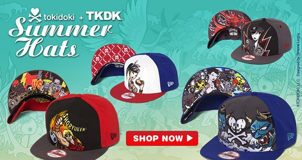 2013 tokidoki Summer Hats