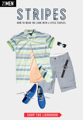 21MEN: Stripes - Shop Now