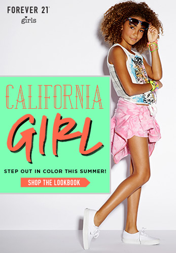Forever 21 Girls: California Girl - Shop Now