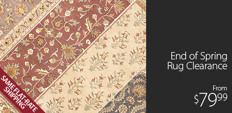 End of Spring Rug Clearance