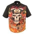 Rockhouse BSG Fire Button up Short Sleeve Shirt