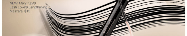 NEW! Mary Kay® Lash Love® Lengthening™ Mascara, $15