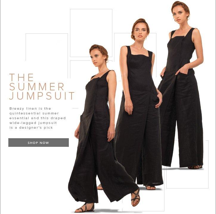 MaxStudio Summer Jumpsuit