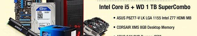 Intel Core i5 + WD 1 TB SuperCombo