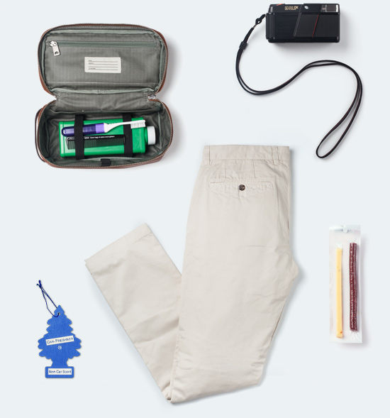 Weekend Travel Essentials. Shop Now.