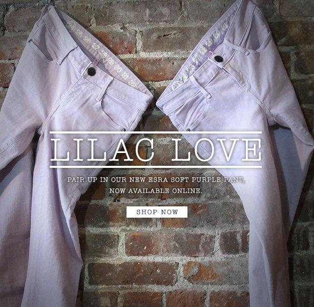 Lilac Love - Esra Soft Purple