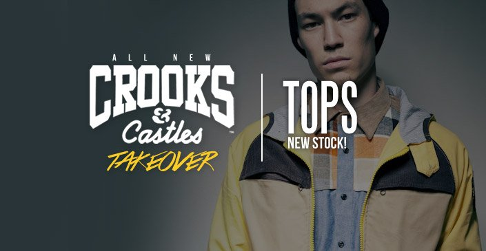 Crooks and Castle: Men's Tops
