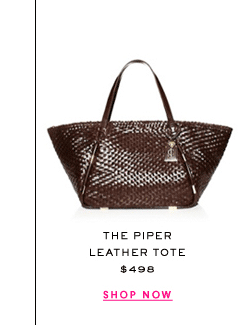 The Piper Leather Tote at $498. Shop Now.