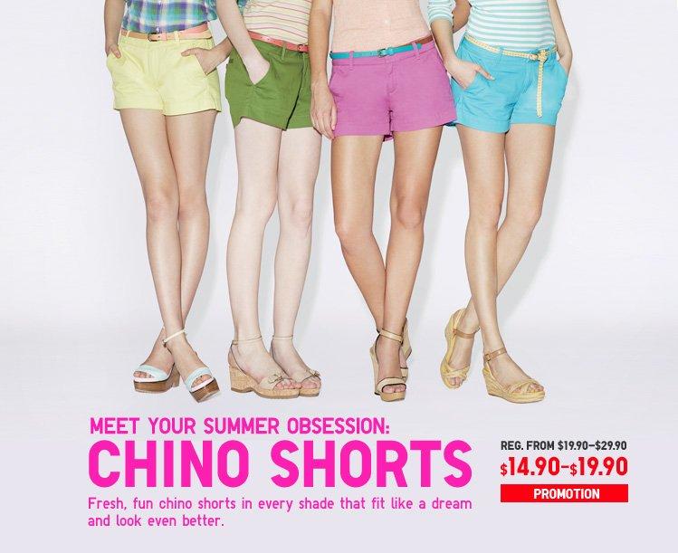 WOMEN'S CHINOS