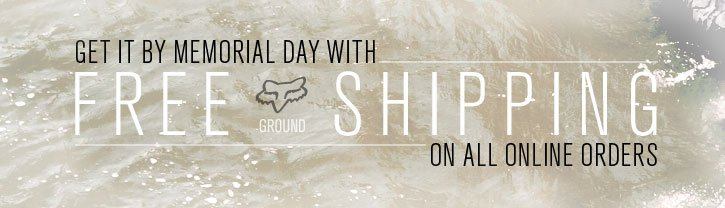 Free Ground Shipping On All Online Orders